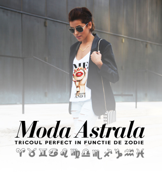Moda astrala - Tricoul perfect in functie de zodie