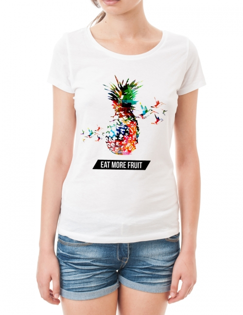 Tricou Eat More Fruit