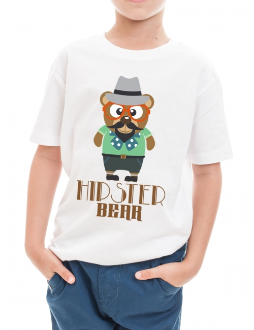 Tricou Hipster Bear