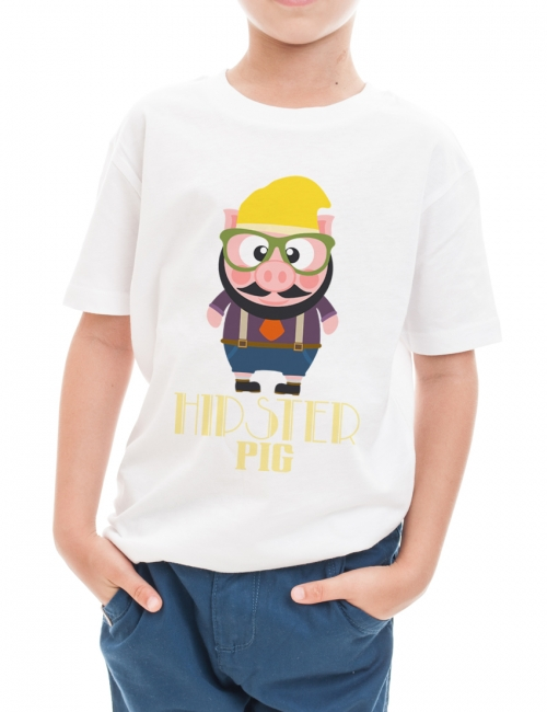 Tricou Hipster Pig