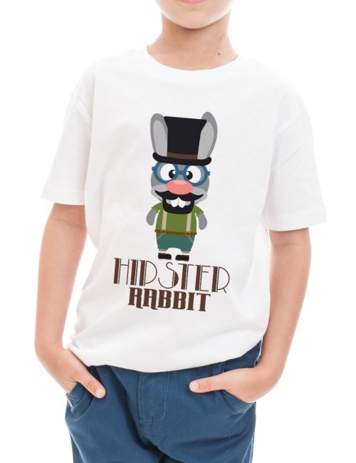 Tricou Hipster Rabbit